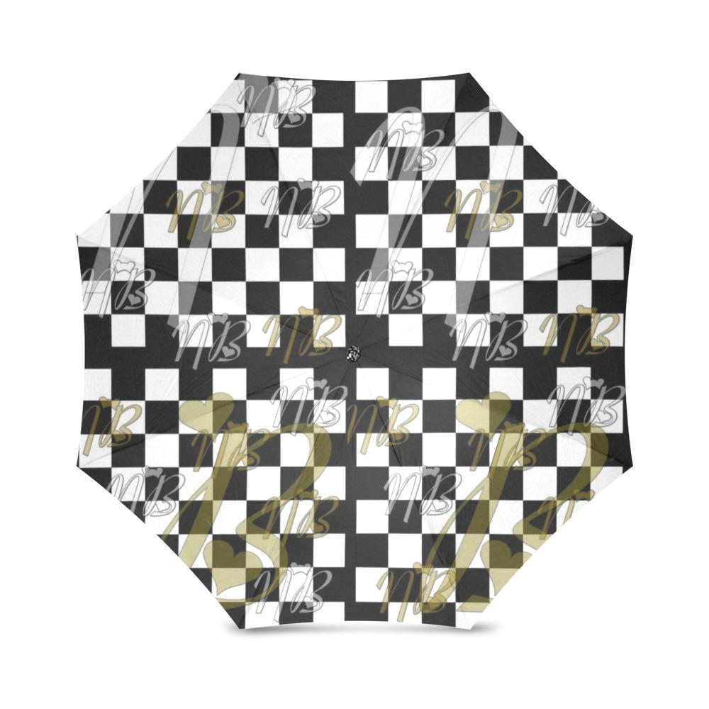 Nb Schach by Nico Bielow Foldable Umbrella (Model U01)