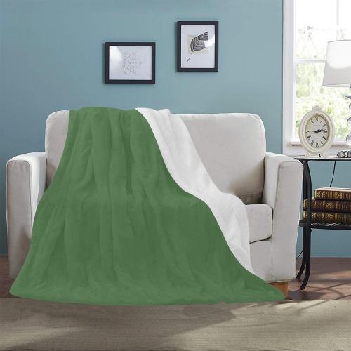 """color artichoke green Ultra-Soft Micro Fleece Blanket 50""""x60"""""""